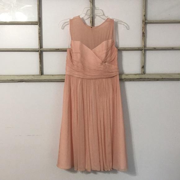 J. Crew Dresses | Jcrew Blush Bridesmaid Or Evening Gown | Poshmark